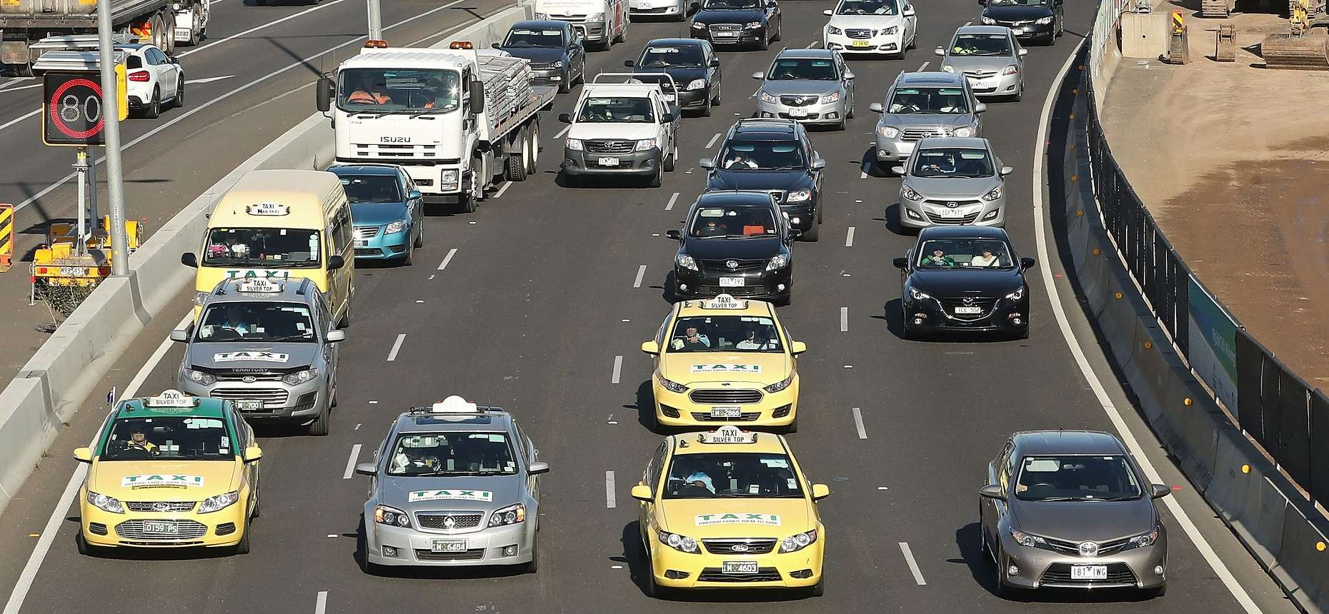 Taxis Cause Chaos at Melbourne Airport