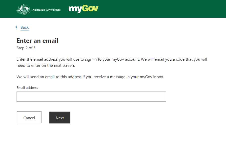 Creating Your MyGov Account