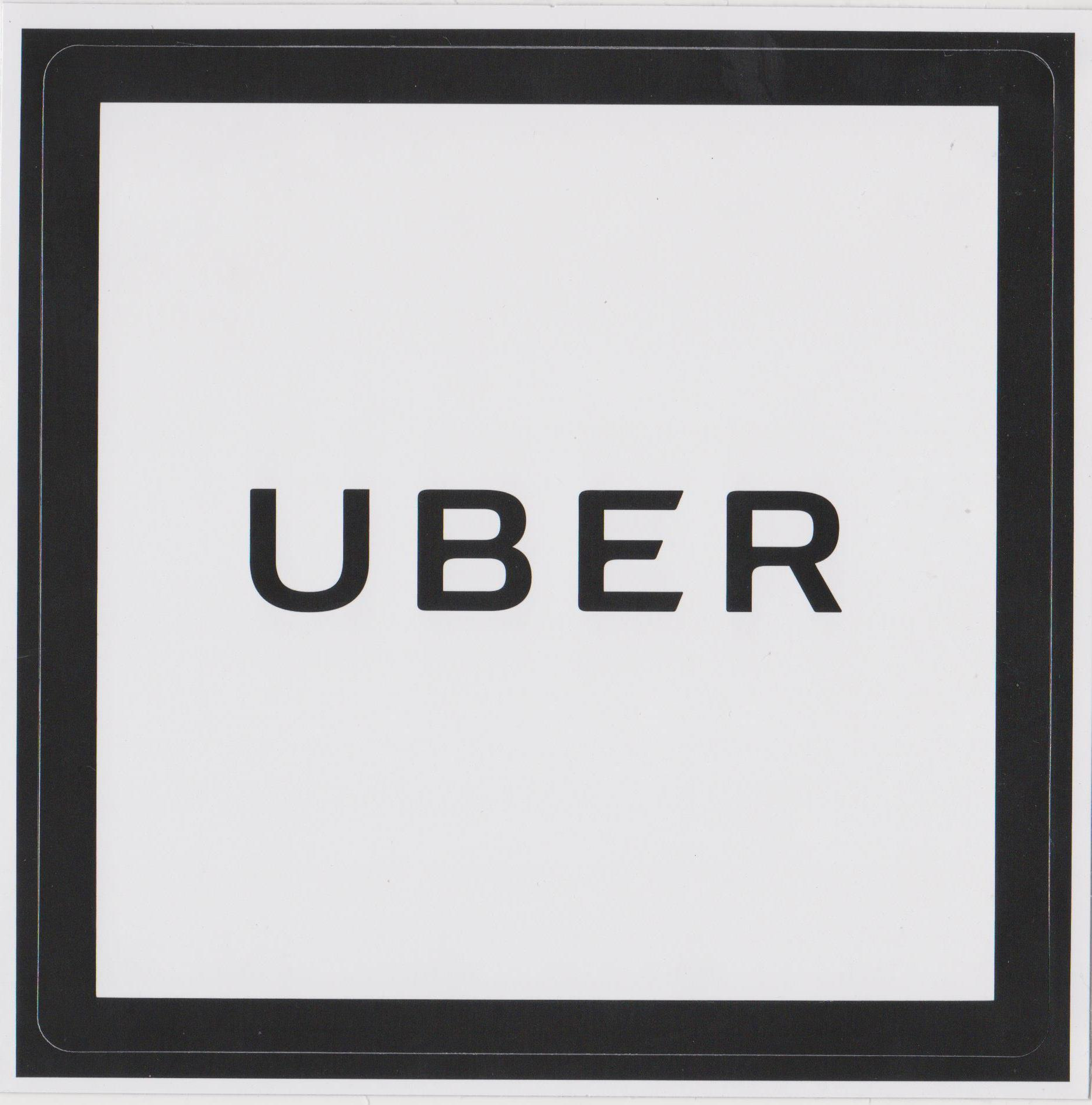 New uber sticker for uber drivers in qld