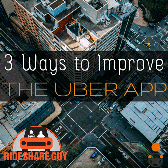 Improve the Uber Driver/Partner App