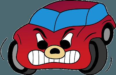 Angry Rideshare Car