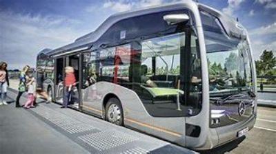 Driverless Bus New