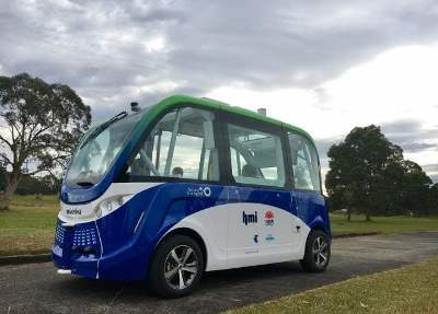 Driverless Bus in NSW with LIDAR