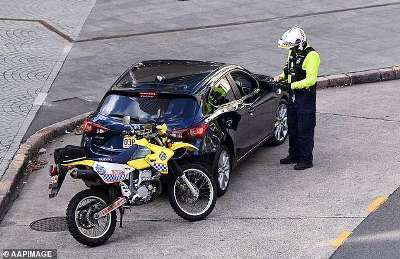 Cop Booking Driver