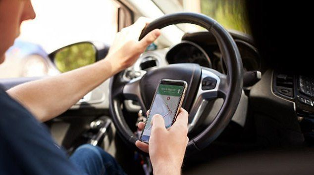 Driver Using Phone