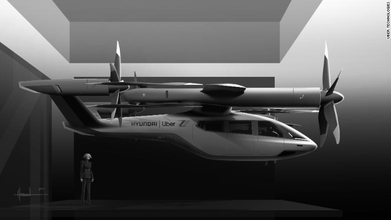 Hyundai Rideshare Flying Car